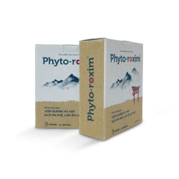 PHYTO-ROXIM® - Hỗ trợ làm giảm Viêm đường Hô hấp