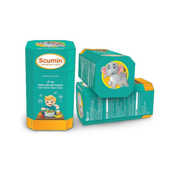 Scumin - Đề kháng khỏe, trẻ hết ốm