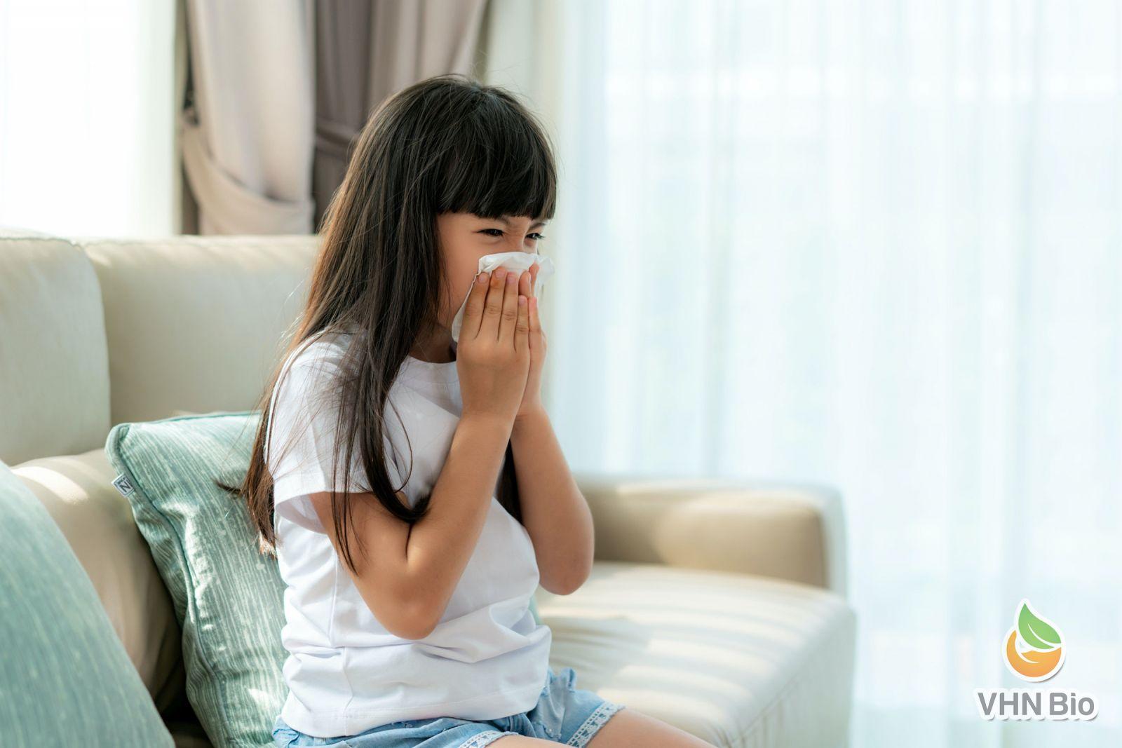 Cách tăng đề kháng hô hấp cho bé trong thời điểm giao mùa